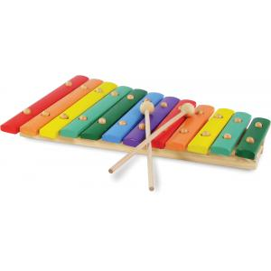 Vilac - 2488 - Grand xylophone en bois 12 notes (88737)