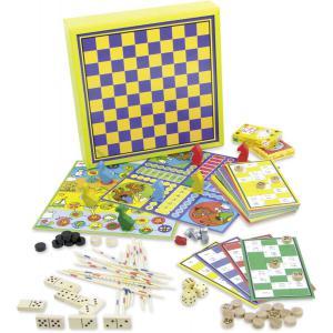 Vilac - 6106 - Ma grande boîte de jeux en coffret bois (89074)