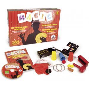 Vilac - 6101 - Grande boîte de 120 tours de magie   + DVD (89084)