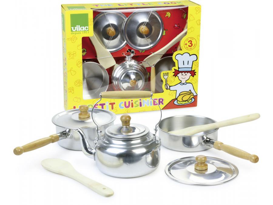 Vilac le petit cuisinier for Cuisinier 71
