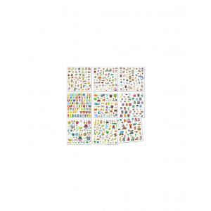 Djeco - DJ08950 - Stickers - 1000 stickers pour les petits (90588)