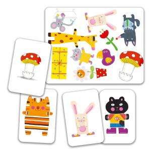 Djeco - DJ05175 - Jeu de cartes MiniMatch (90654)