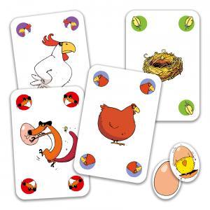 Djeco - DJ05119 - Jeu de cartes Piou Piou (90658)