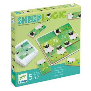 Djeco - DJ08473 - Jeux -  Sheep Logic * (90681)