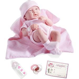 Berenguer - 18541 - Poupon Le Newborn 36 cm Nouveau-né réaliste fille sexué (91960)