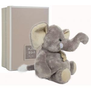 Histoire d'ours - HO1283 - Eléphant 23 cm - boîte cadeau (92394)