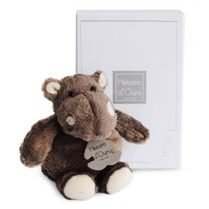 Histoire d'ours - HO1059 - Peluche Hippo 14 cm  (92395)