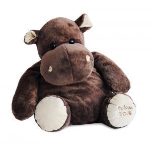 Histoire d'ours - HO1263 - Peluche Hippopotame - taille 60 cm (92398)