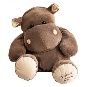 Histoire d'ours - HO1287 - Peluche Hippo 80 cm  (92402)