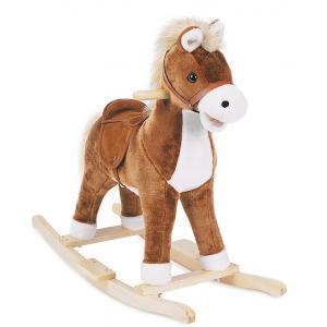 Histoire d'ours - HO1415 - Mon petit cheval - avec musique cow boy + effets sonores Assise haut : 40 cm  (92404)
