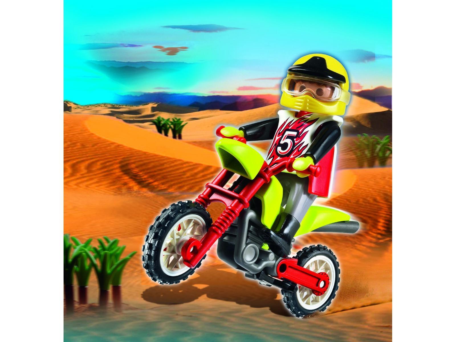 Playmobil oeuf 2010 pilote et moto cross 4923 - Moto cross playmobil ...