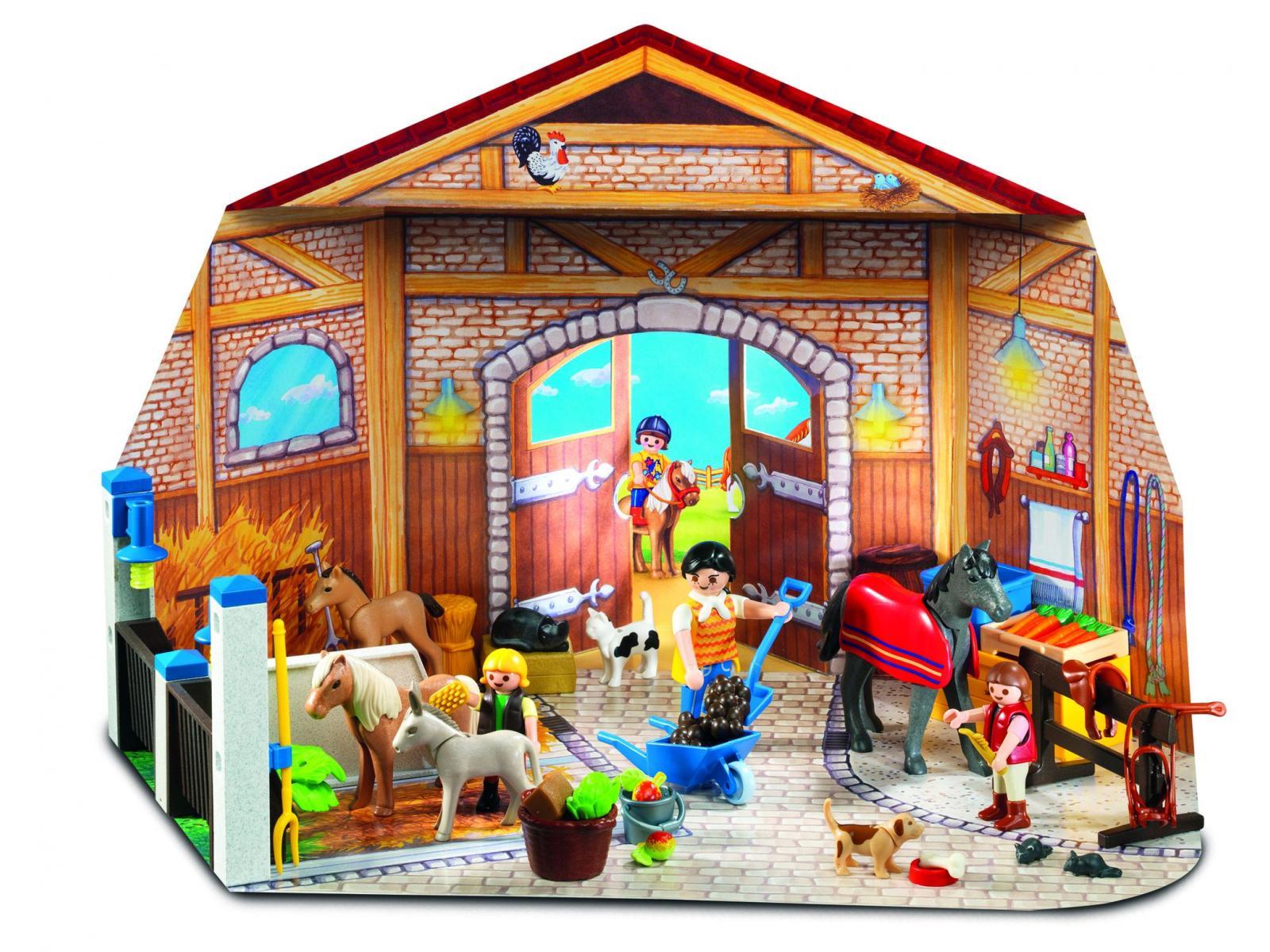 Calendrier L Avent Playmobil.4159 Calendrier De L Avent Centre Equestre