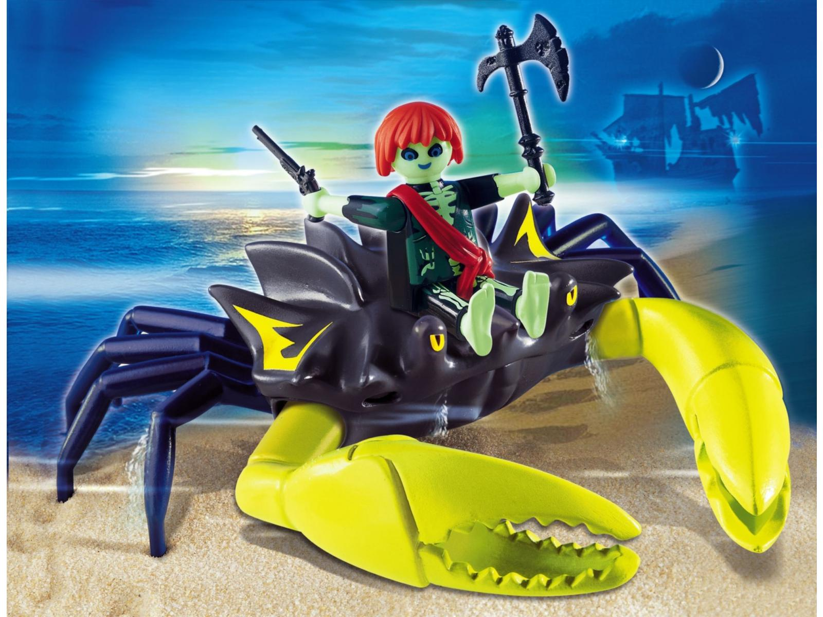 Playmobil pirate fant me et crabe g ant - Pirate fantome ...