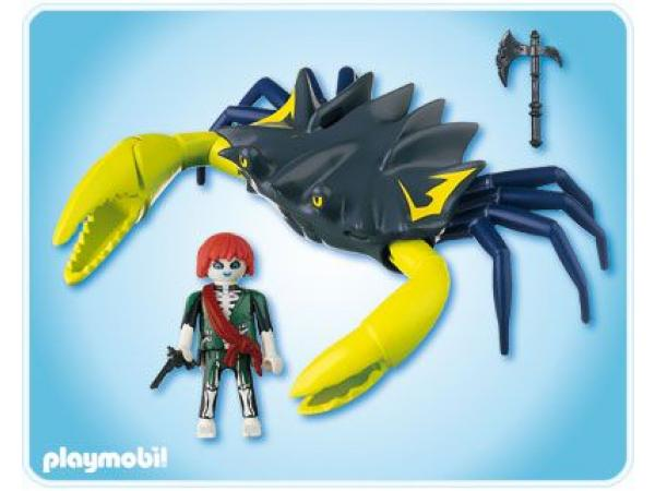 Playmobil pirate fant me et crabe g ant - Playmobil pirate fantome ...