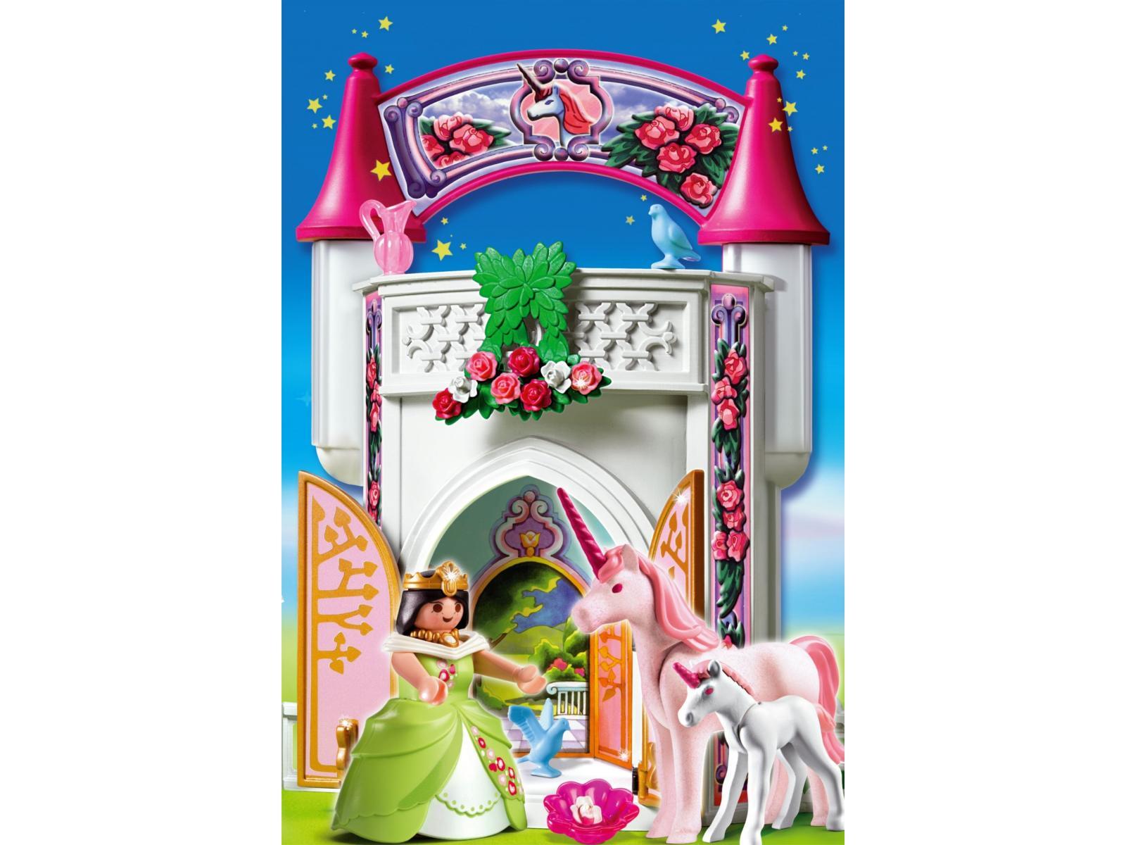 Carrosse princesse playmobil good carrosse princesse for Chateau princesse playmobil 5142
