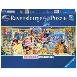 Ravensburger - 15109 - Puzzle panorama 1000 pièces - Photo de groupe Disney (93474)
