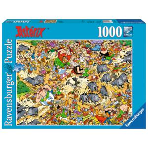 Ravensburger - 19163 - Puzzle 1000 pièces - Chasse aux sangliers/Astérix (93816)