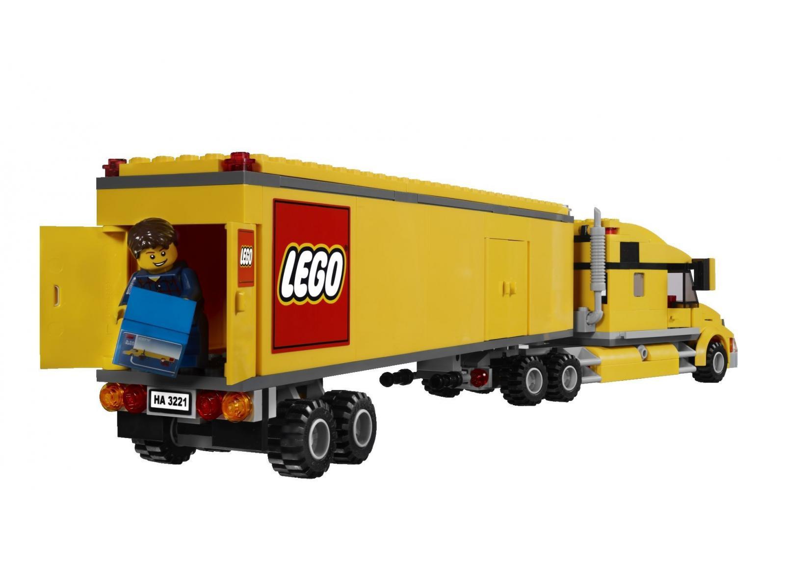 lego le camion lego. Black Bedroom Furniture Sets. Home Design Ideas