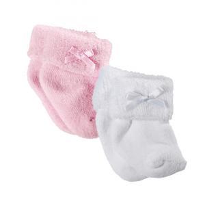 Gotz - 3300955 - Chaussettes rose/blanche pour poupées de 30-33cm, 42-46cm, 48cm (94674)