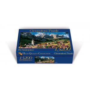 Clementoni - 38007 - Puzzle 13200 pièces - Sellagruppe - Dolomiten (94799)