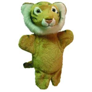 Au Sycomore - PEL60291 - Marionnette peluche tigre 23 cm (9571)