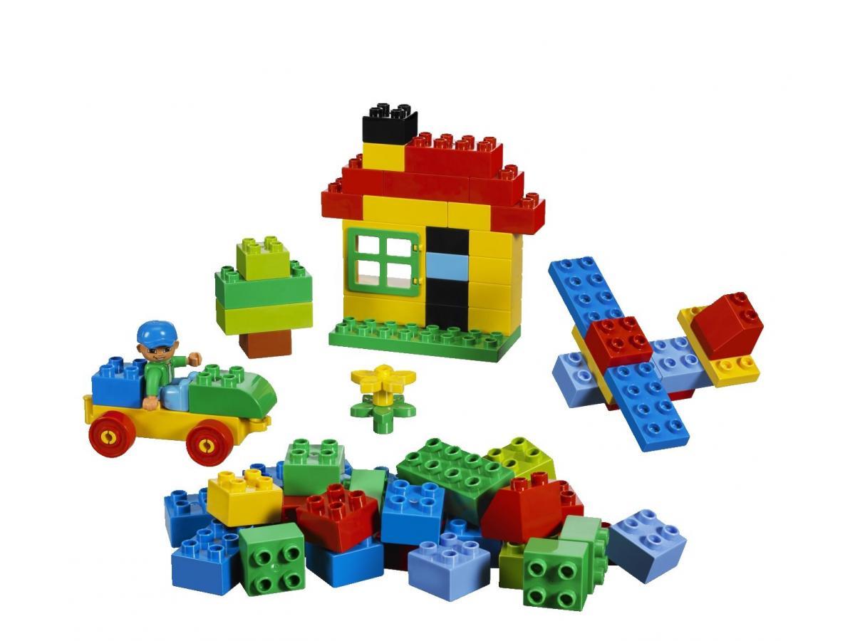 lego grande bo te de briques lego duplo. Black Bedroom Furniture Sets. Home Design Ideas