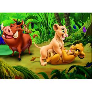 Nathan puzzles - 86558 - Puzzle 60 pièces - Le Roi Lion et ses amis (95766)