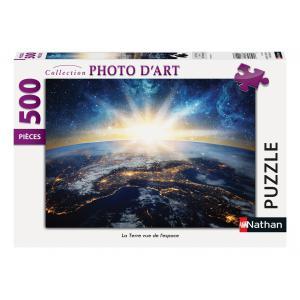 Nathan puzzles - 87173 - Puzzle N 500 pièces - La Terre vue de l'espace (95785)