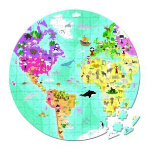 Janod - J02926 - Puzzle recto/verso planete bleue 208pcs (98364)